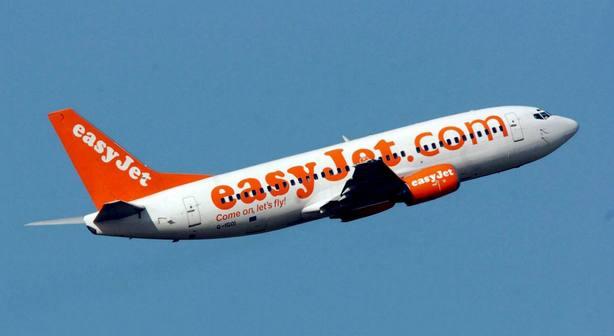 Fotografía sin fecha de un Boeing 737 de Easy Jet