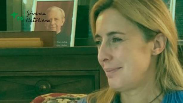Chus Bello conoció a su marido gracias a que tradujo un libro de Benedicto XVI
