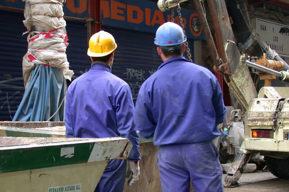 Personas trabajando