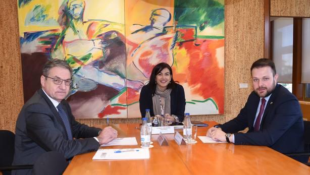 La Generalitat traslada a Rienda el proyecto olímpico de Barcelona-Pirineos 2030