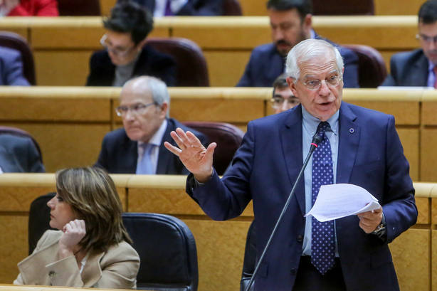 Borrell dice que se puede discutir la conveniencia del relator, pero no es lo más grave desde 1981