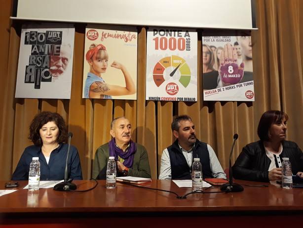 Álvarez (UGT) dice que un adelanto electoral no aporta nada positivo y llama a la responsabilidad a los partidos