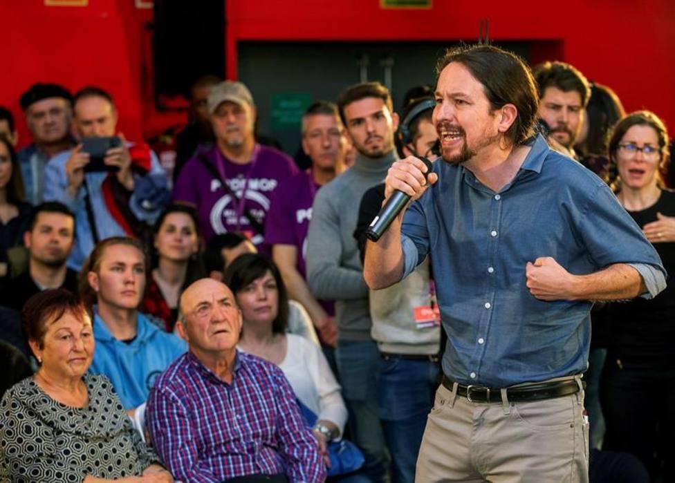 """Iglesias advierte de que hay """"poderes económicos"""" en contra de que haya pacto entre PSOE y Podemos"""