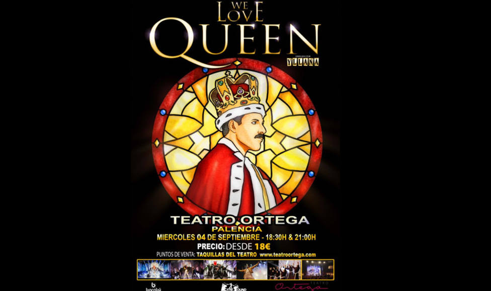 El tributo We love Queen actuará en el Ortega en San Antolín