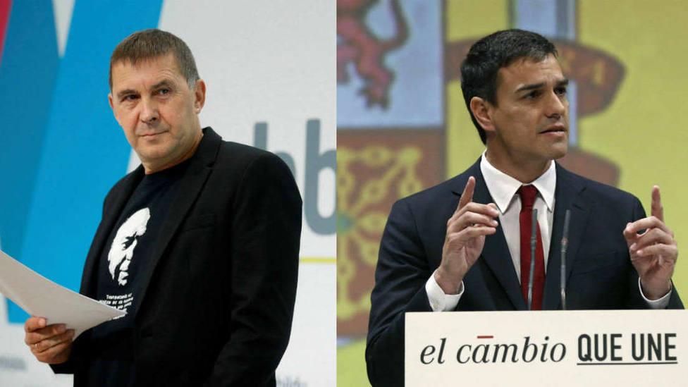 La promesa de Otegi que puede dar a Pedro Sánchez la llave de la Moncloa