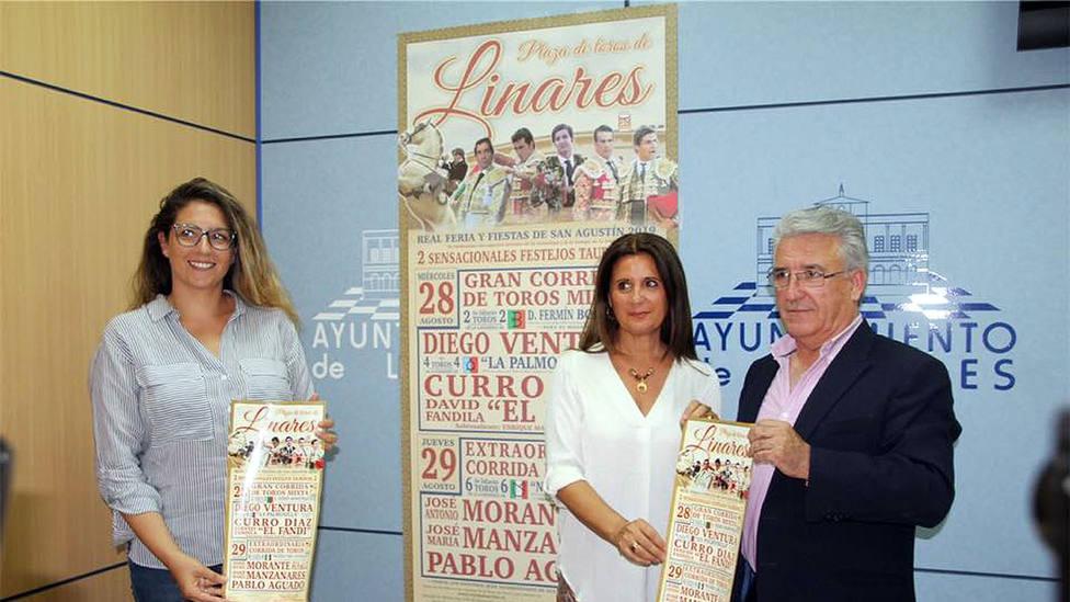 Acto de presentación de los carteles de la Feria de San Agustín de Linares