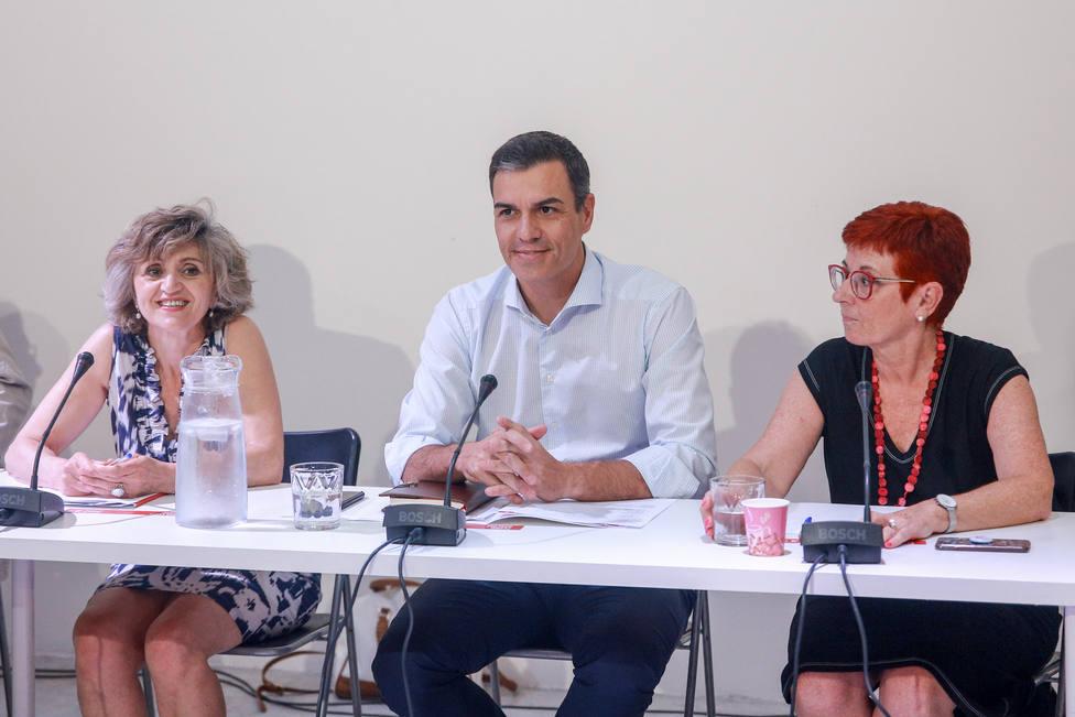 La ministra Carcedo cree que plantear un candidato alternativo a Sánchez está fuera de toda lógica política