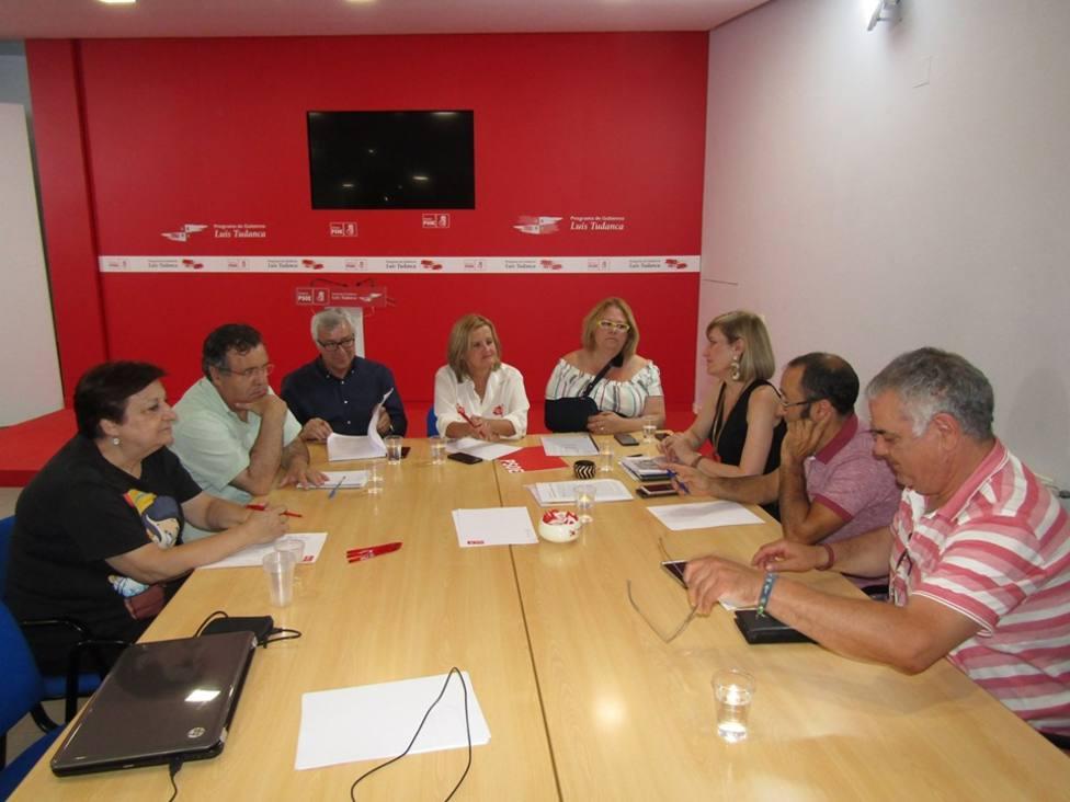 Encuentro PSOE-Viriatos