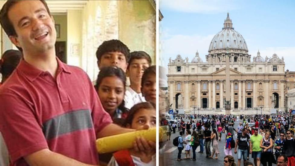 La historia de Miguel Ángel, el nuevo fichaje español del Vaticano que estuvo amenazado por el yihadismo