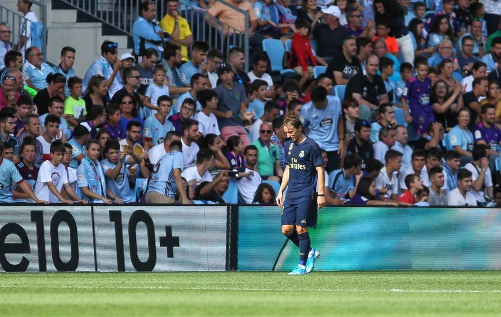 Modric, otro lesionado en el Real Madrid