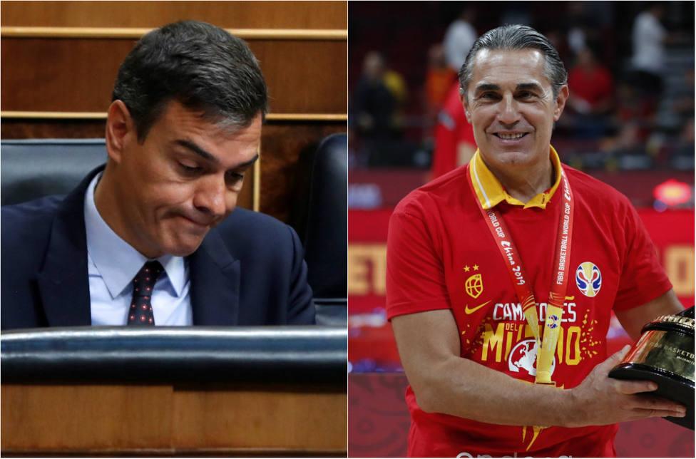 La crítica de Sánchez a Scariolo durante el Mundial de Baloncesto que se le ha vuelto en contra