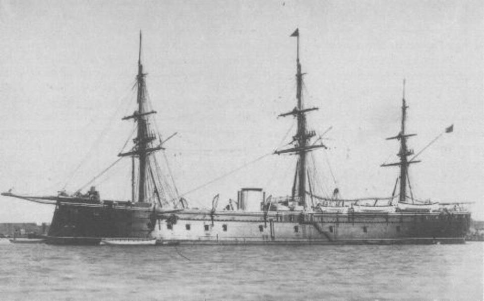 La historia olvidada de la fragata Numancia