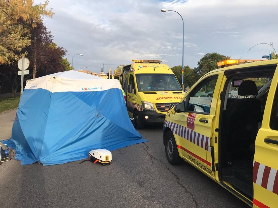 Muere un hombre con cinco puñaladas en la espalda y otro queda herido grave tras una reyerta en Leganés