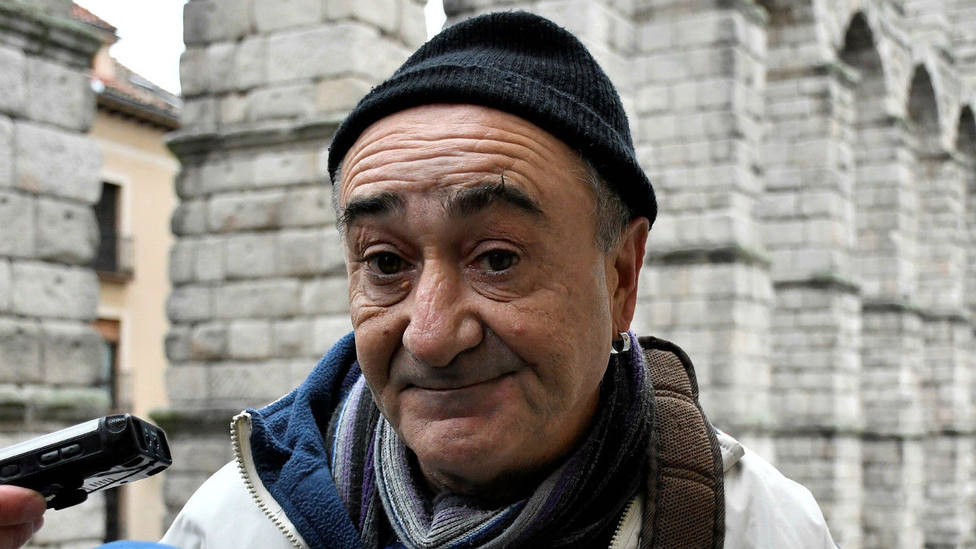 Vicente Belenguer a la salida del juzgado de Segovia donde acudió a declarar