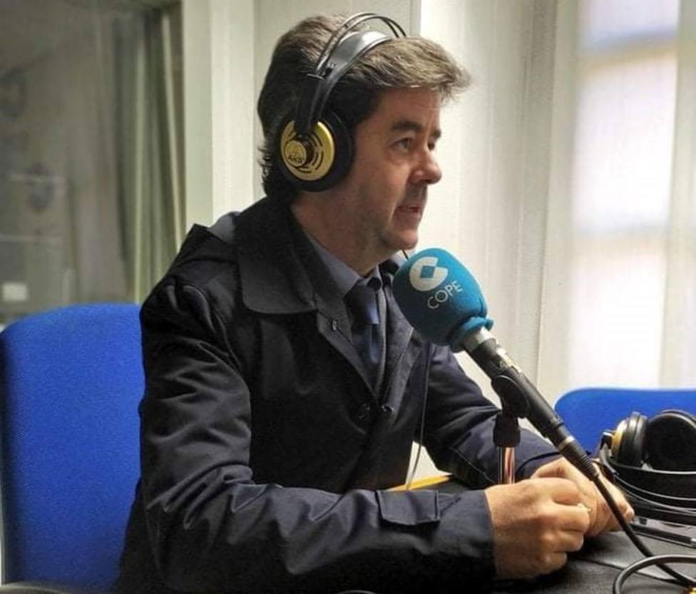 Luis Felipe en Cope Huesca