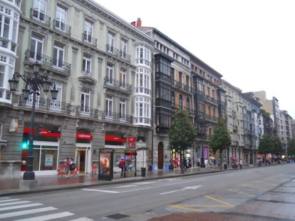 Calle Uría de Oviedo