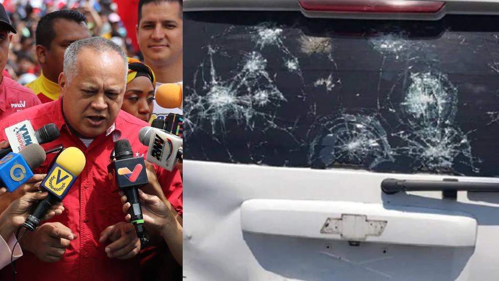 El chavismo acusa a Guaidó de crear falsas informaciones sobre el atentado que sufrió
