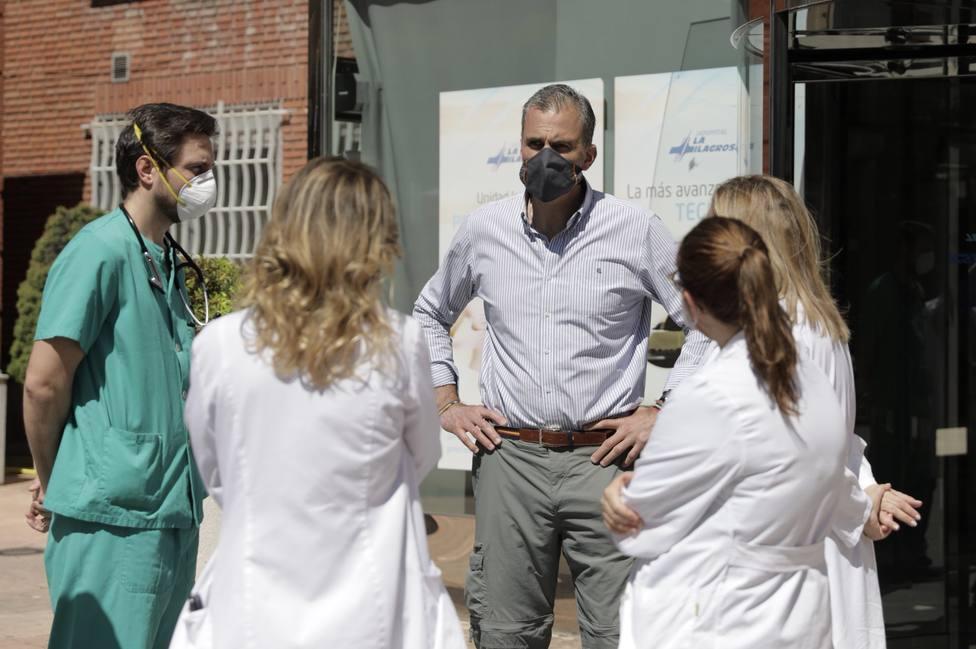 Ortega Smith recibe el alta hospitalaria tras las complicaciones que le provocó el coronavirus