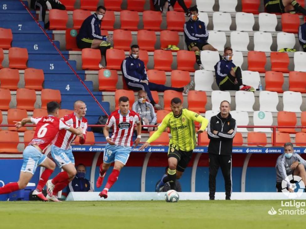 Lugo-Real Zaragoza. Luis Suárez