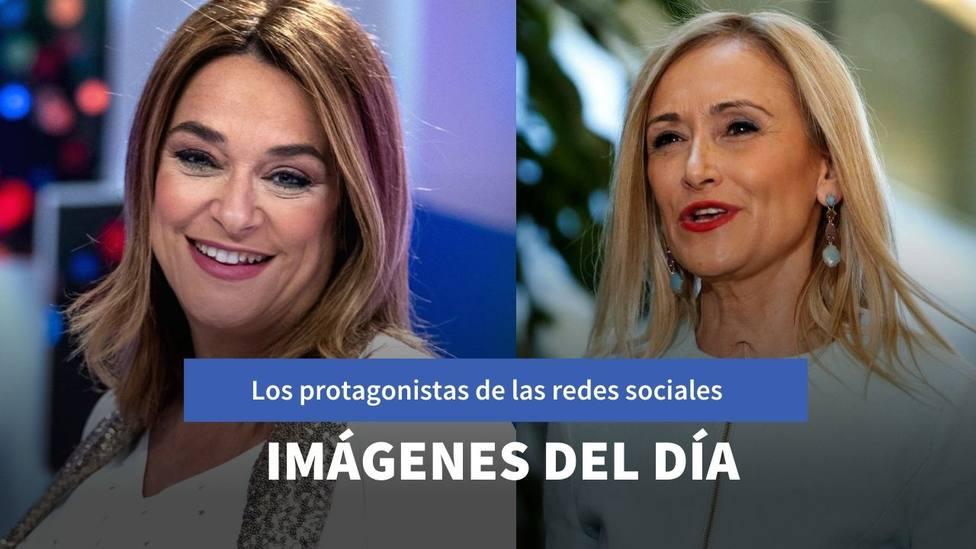 Imágenes del día: la mejor amiga de Toñi Moreno y la nueva normalidad de Cristina Cifuentes