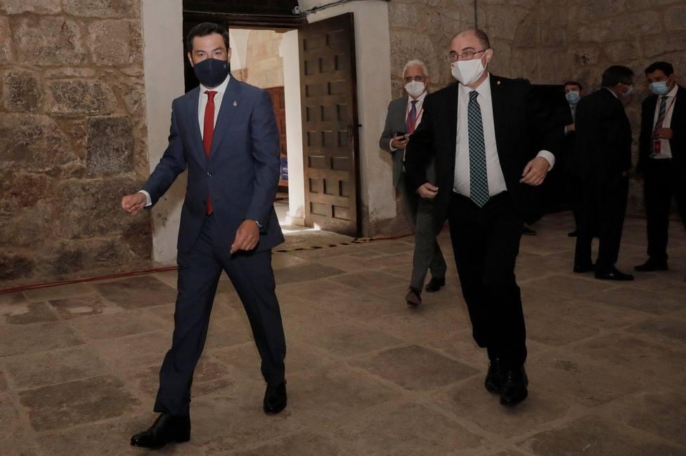 Moreno pide a Sánchez mayor coordinación para planificar la batalla contra el Covid