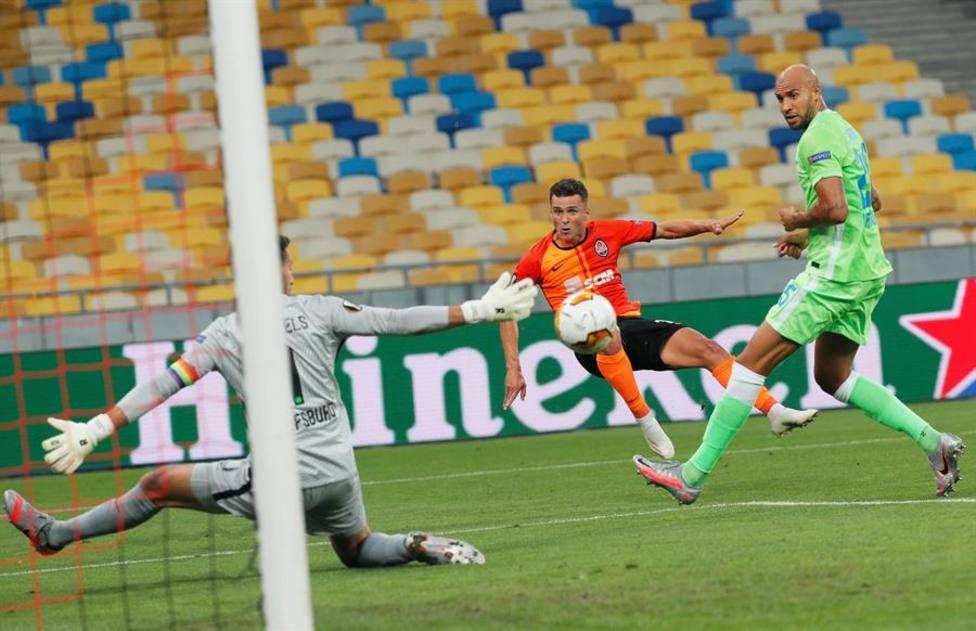 Copenhague y Shakhtar golean y se clasifican a cuartos de final