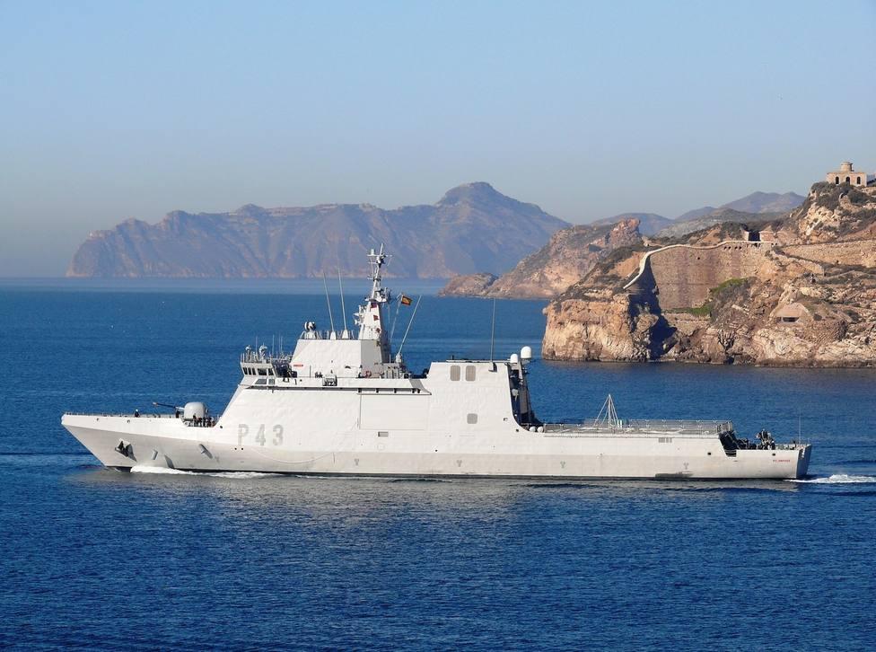 """El """"Relámpago"""" sale hacia Alborán, Estrecho de Gibraltar y Golfo de Cádiz"""
