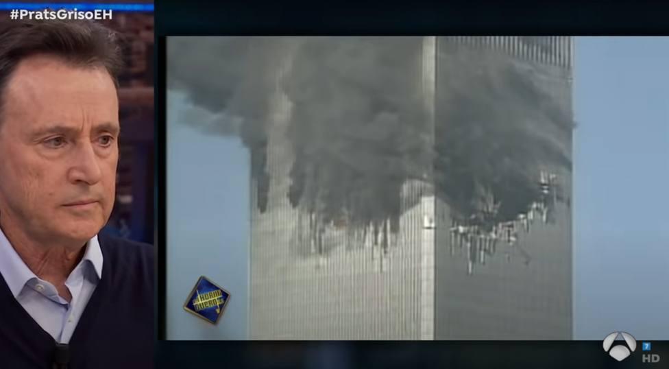 La emocionante reacción de Matías Prats al revivir las imágenes del 11-S: ¡La otra torre!