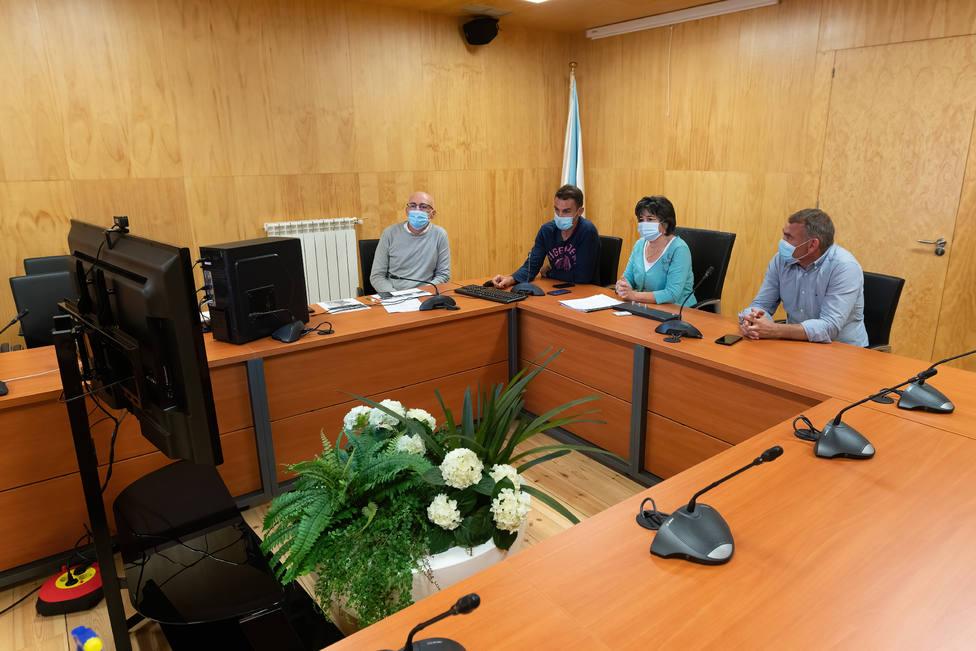 Presentación del proyecto ante la Comisión Nacional Española de Cooperación con la Unesco - FOTO: César Galdo