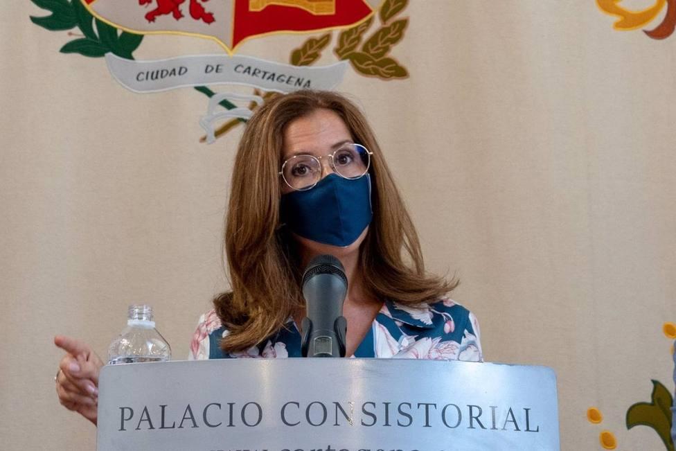 La alcaldesa exige que el Juzgado número 3 de Lo Mercantil se instale en Cartagena