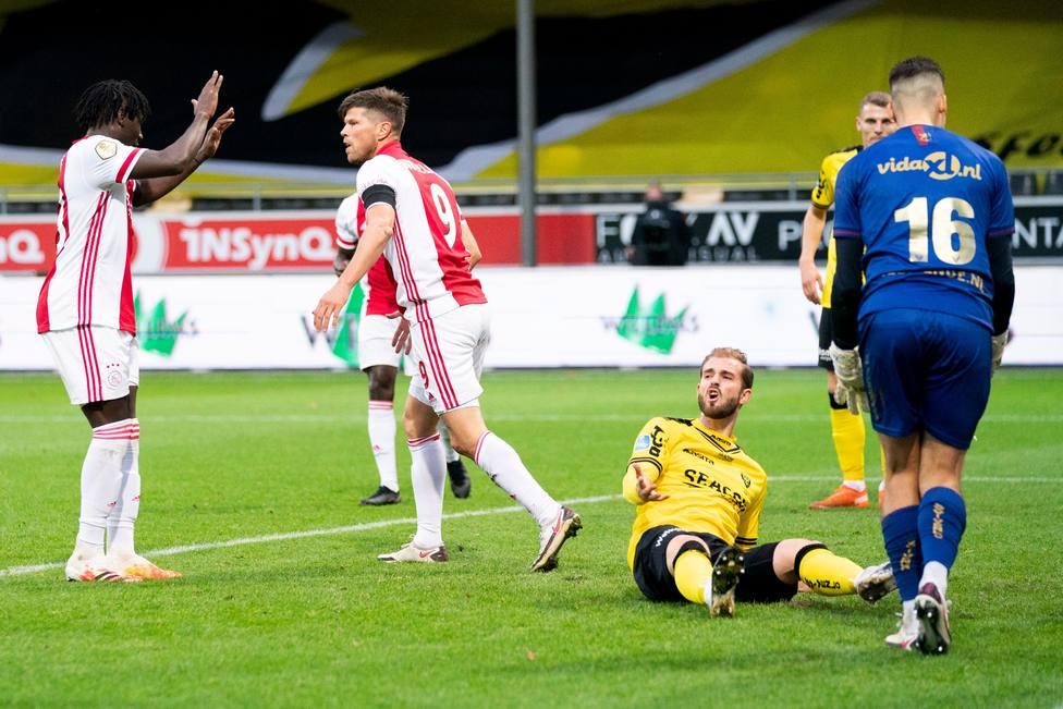 El Ajax logra la mayor goleada en la historia de la Eredivisie, 0-13 con un repóker