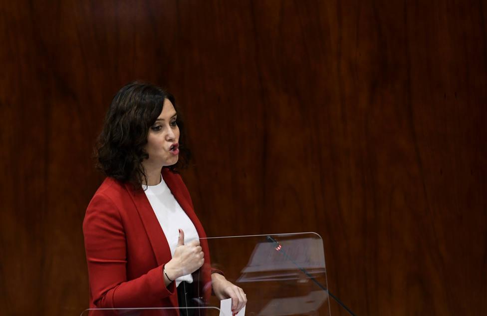 Ayuso anima a Bildu a conocer qué hizo ETA en Madrid para entender la fiscalidad