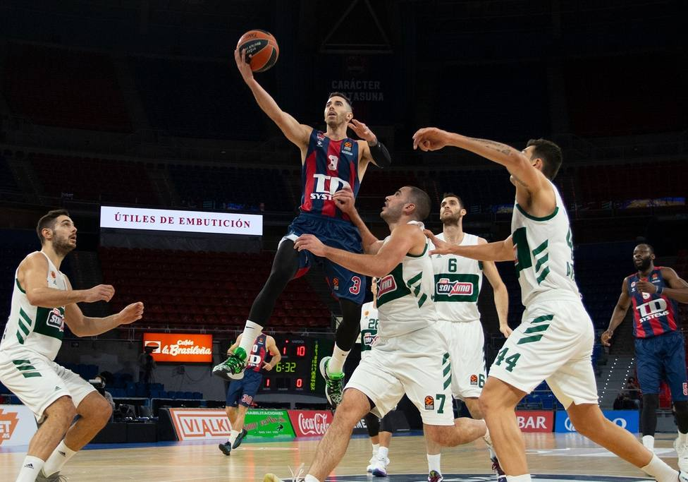 El Baskonia confirma su reacción ante el Panathinaikos