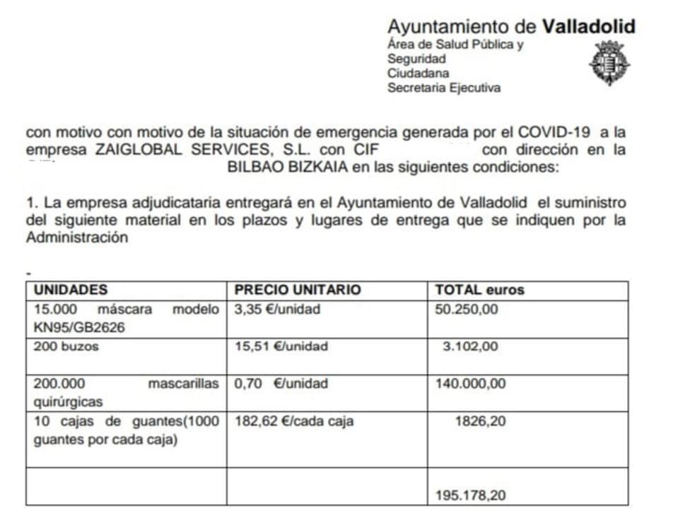 El PP pide explicaciones a Óscar Puente tras adjudicarse un contrato a la empresa de Sergio Zaitegui