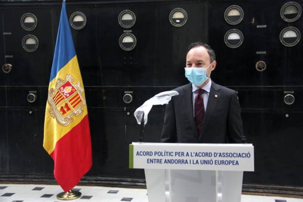 El jefe de gobierno de Andorra, Xavier Espot