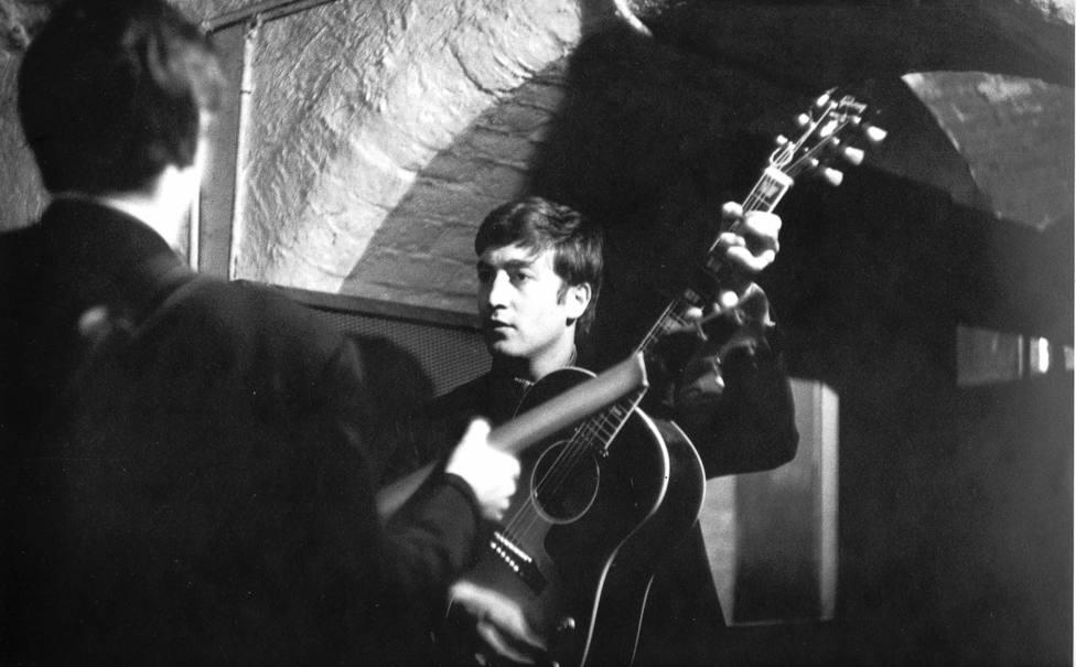 Actuación de los Beatles en The Cavern
