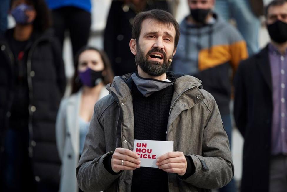 El cabeza de lista de la CUP por Lleida, Pau Juvilla