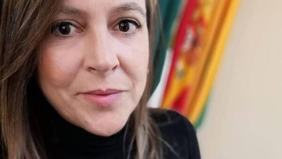 Nadia Ruiz, alcaldesa de Acedera (Badajoz)