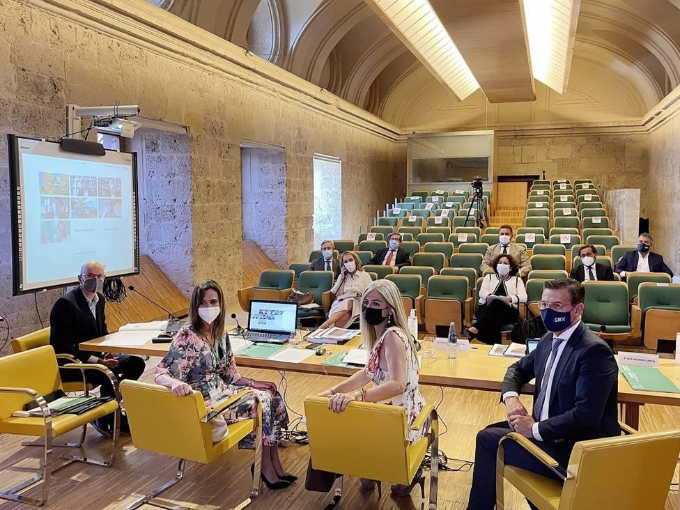 Celebración del Pleno del Patronato de la Alhambra y Generalife