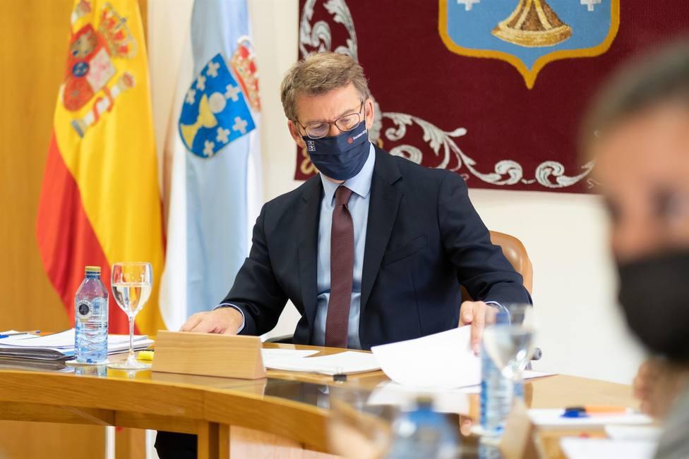 El presidente de la Xunta de Galicia, Alberto Núñez Feijóo. FOTO: David Cabezón, Xunta
