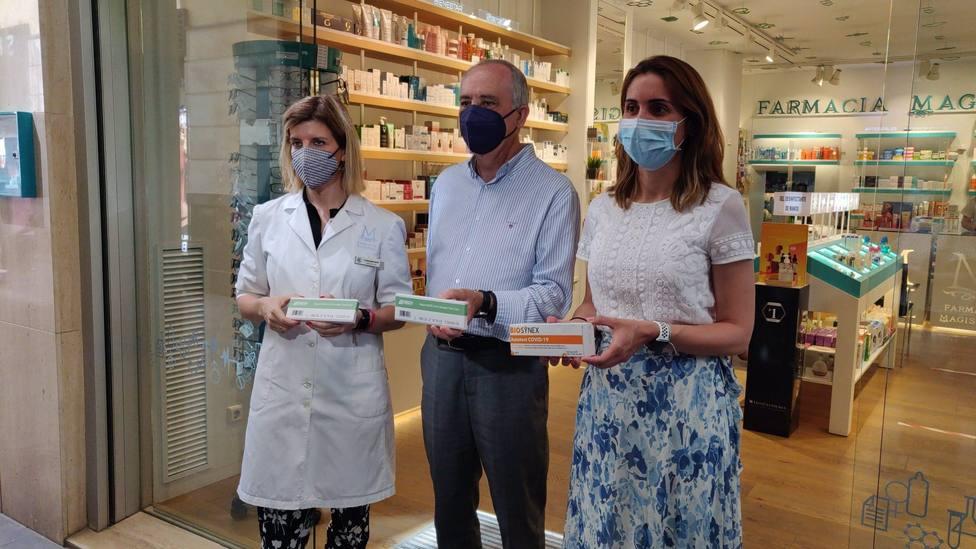 Cvirus.- Las oficinas de farmacia de la Región dispensarán test de autodiagnóstico de Covid-19