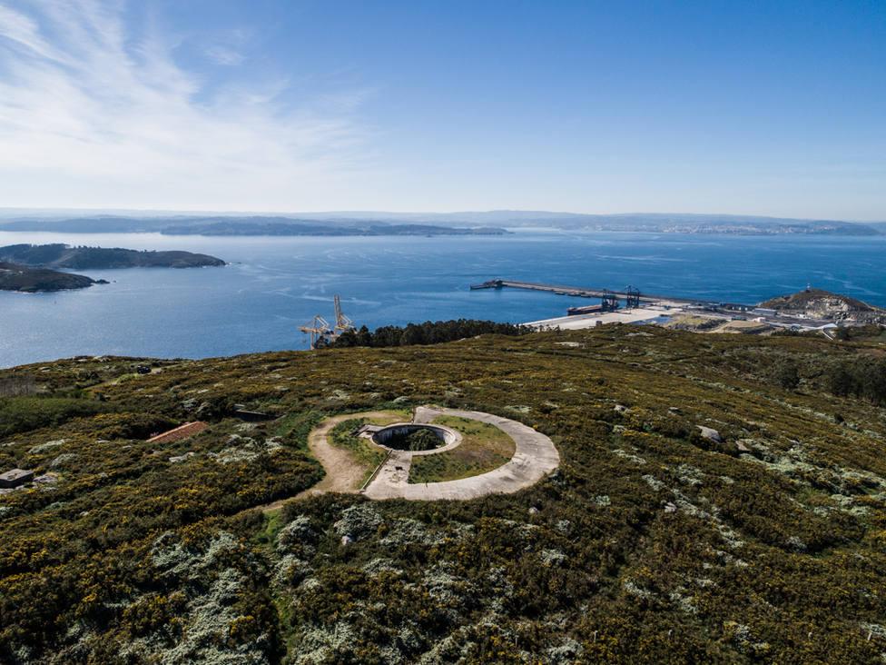 La Ruta de las Baterías Militares de Ferrol recorre 9 puntos de nuestro litoral