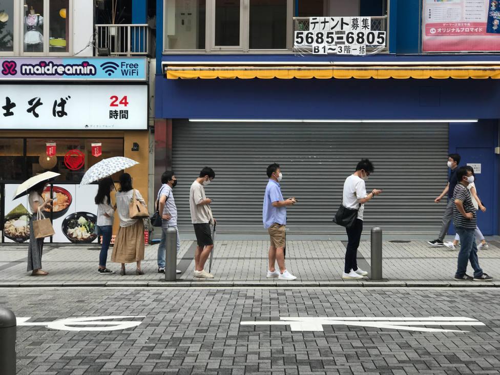 La pandemia bate récords en Japón con casi 16.000 casos en un solo día