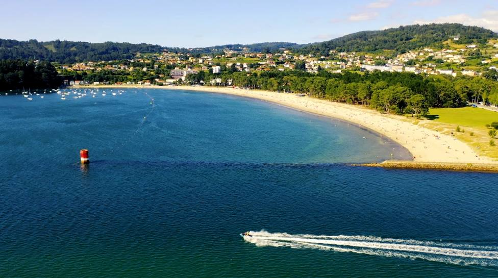 Playa de A Magdalena en Cabanas. FOTO: concello de Cabanas