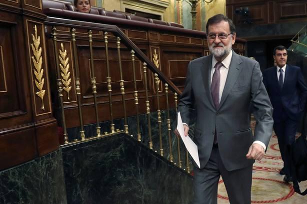 Mariano Rajoy defenderá durante la moción de censura la necesidad de mantener la estabilidad institucional