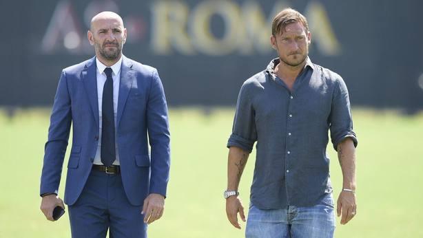 Monchi y Totti