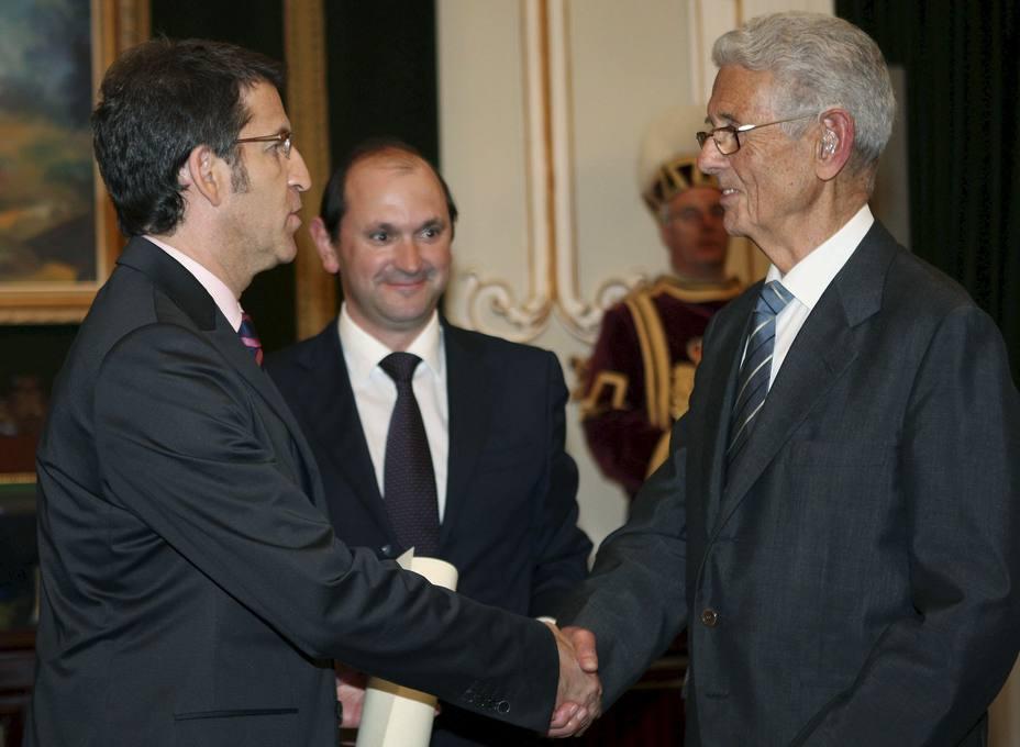 ENRIQUE RAJOY LELOUP HIJO PREDILECTO DE LA PROVINCIA DE PONTEVEDRA A TÍTULO POSTUMO