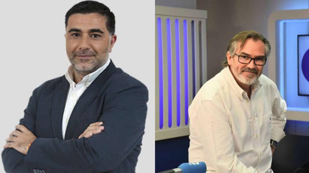 Ángel Correas y Jon Uriarte