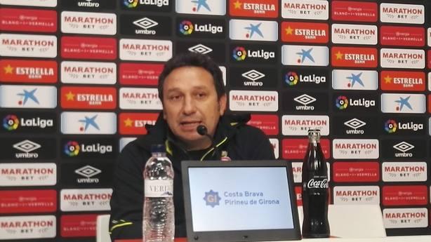 Eusebio: Estamos en buena dinámica y hay que aprovecharla ante el Atlético