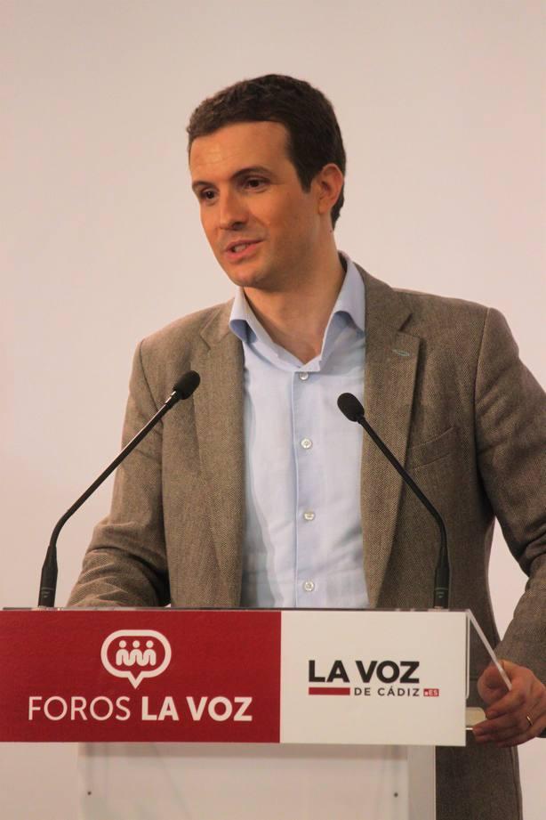 Casado arropará este sábado a López Miras y a Ballesta en la presentación oficial de sus candidaturas